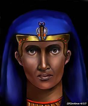 Egyptian Pharaoh by Carmen Cordova
