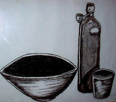 The empty bowl by Eloudi Coetzer