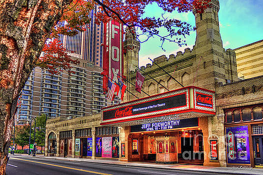 The Fabulous FOX Theatre Atlanta Georgia Art by Reid Callaway