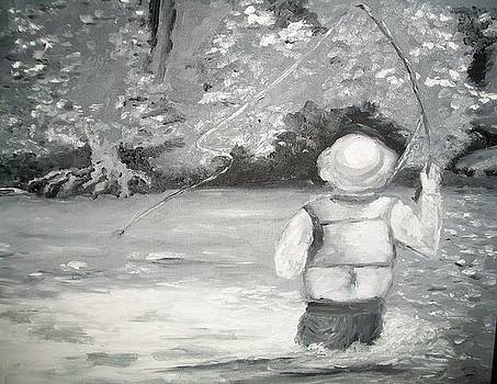 The Fly Fisherman by Jenell Richards