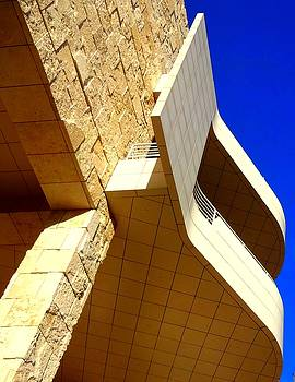 The Getty Museum by Donna Spadola