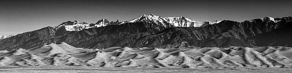 Alan Stenback Photography - The Great Sand Dunes of North America BW