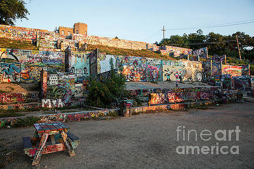 Herronstock Prints - The Hope Outdoor Gallery is a community painting and graffiti park located in downtown Austin
