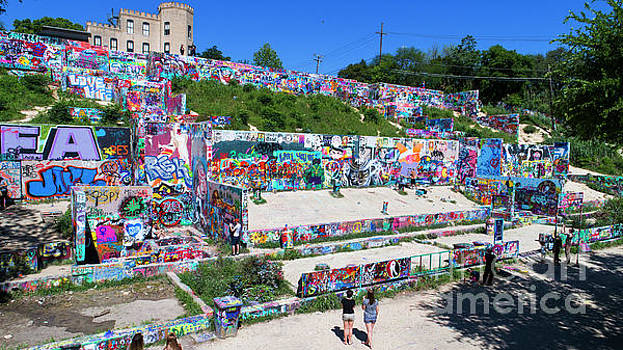 Herronstock Prints - The HOPE Outdoor Gallery is a very colorful space for artist to paint whatever inspires them