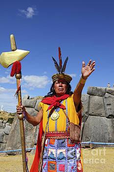 James Brunker - The Inca at Sacsayhuaman