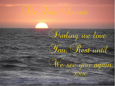 The Last Sunset 2 by Dawn Hay