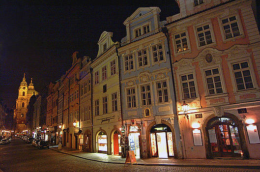 The Lesser Town Prague by Paul Pobiak