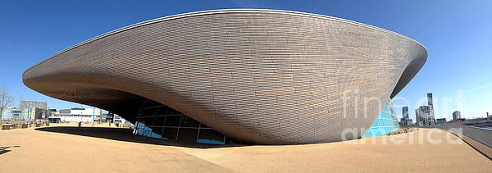 The London Aquatics Centre by John Gaffen