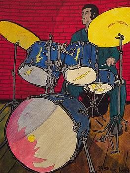 The Lone Drum-Man by Shane Hurd