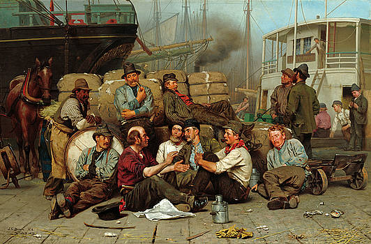 John George Brown - The Longshoremen