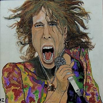 The madman of rock.Steven Tyler. by Ken Zabel