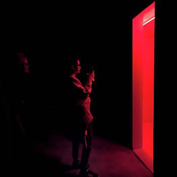 The mysterious red room by Alfio Finocchiaro