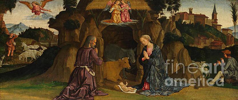 The Nativity by Antoniazzo Romano
