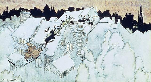 Arthur Rackham - The Night Before Christmas