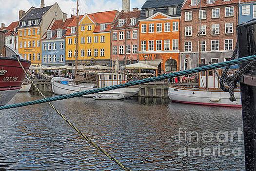 Patricia Hofmeester - The Nyhavn Canal in Copenhagen