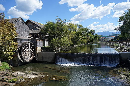The Old Mill by Laurie Perry