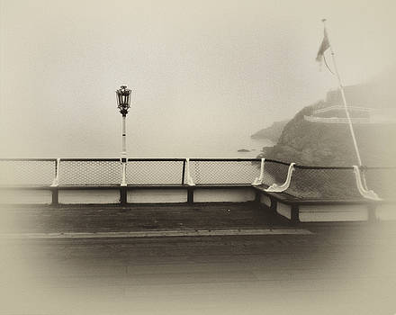 The Old Pier by Steve Bisgrove