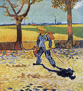Vincent van Gogh - The Painter on His Way to Work
