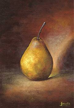 The Pear by Ewa Gawlik