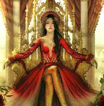 The Queen of Westeros by Mario Carini