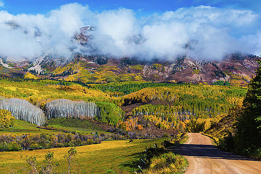 The Road To The Elk Mountains by John De Bord