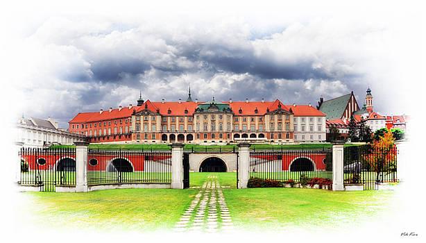 The Royal Castle in Warsaw by Viktor Korostynski