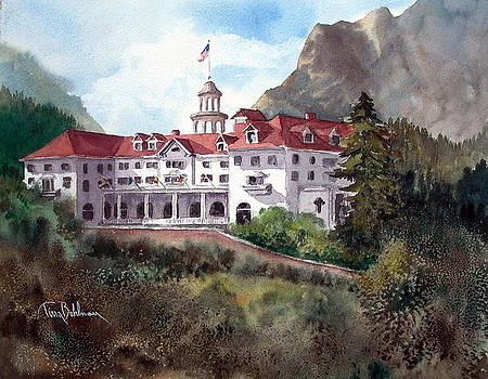 The Stanley Hotel by Tina Bohlman