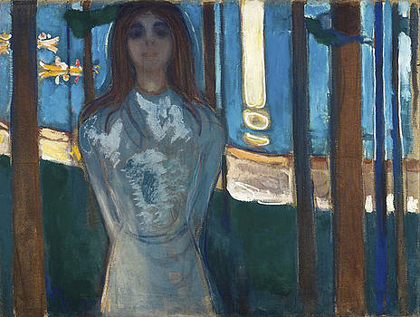 The Voice by Edvard Munch