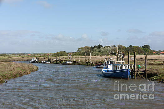 Thornham Creek Norfolk UK by John Edwards