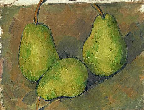 Paul Cezanne - Three Pears