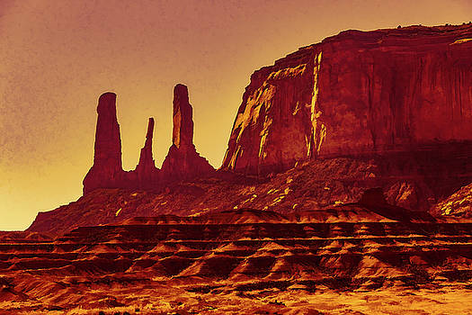Mike Penney - Three Sisters Monument Valley