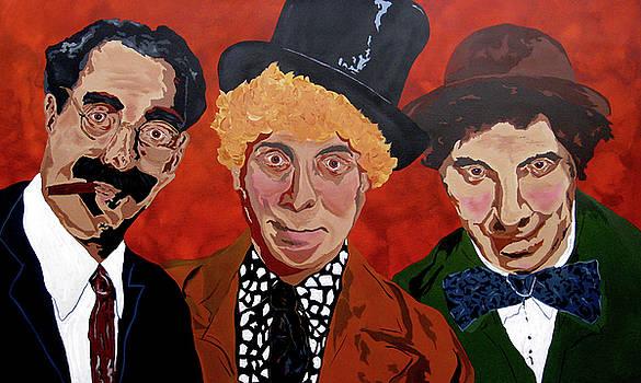 Three's Comedy by Bill Manson