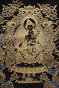 Serge Averbukh - Tibetan Thangka  - Maitreya Buddha