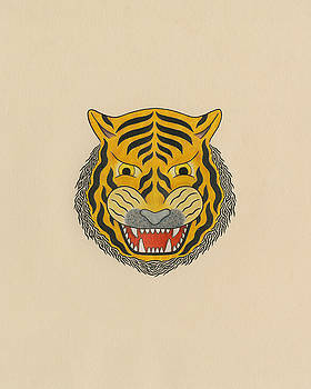 Tiger Head by Matt Leines