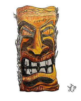Tiki art by W Gilroy