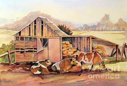 Time out on the farm by Audrey Russill