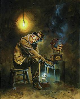 Tom Waits by Ken Meyer jr