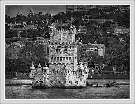Torre de Belem B. W. by Hanny Heim