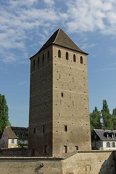 Tower at Ponts Couverts  by Teresa Mucha