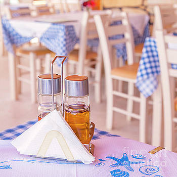 Sophie McAulay - Traditional Greek taverna
