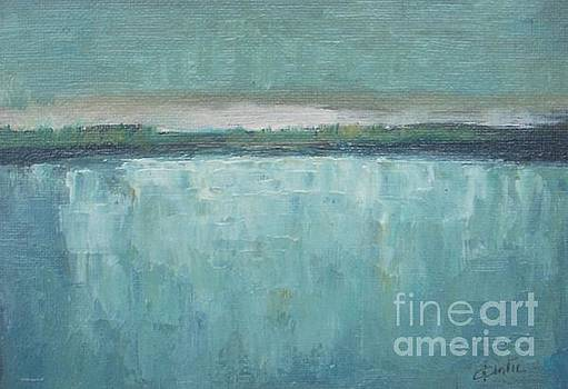 Tranquility of the Lake  by Vesna Antic