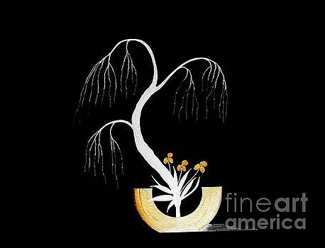 Tree Lights by Gordon Lavender