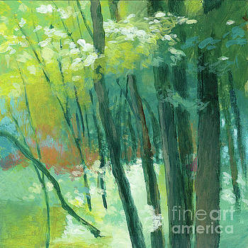 Trees 4 by Melody Cleary