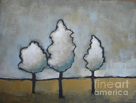 White Trio by Vesna Antic