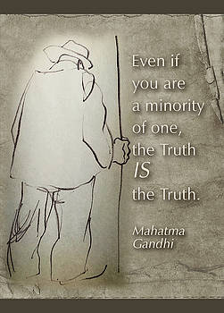 Truth is truth by Peggy Lipschutz