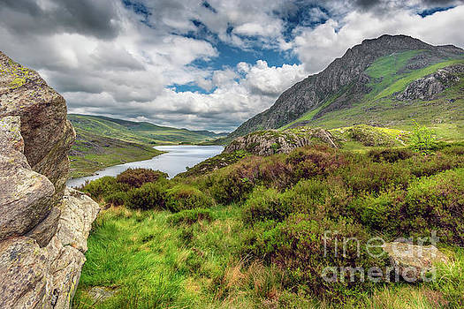 Tryfan And Ogwen Lake by Adrian Evans