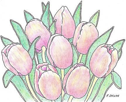 Tulip Bouquet by Frances  Dillon