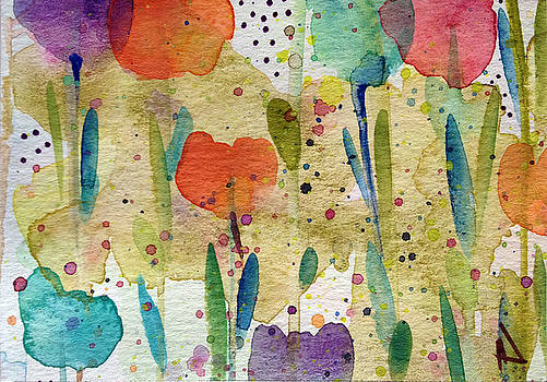 Patricia Lazaro - Tulips at the Hidden Heaven Garden