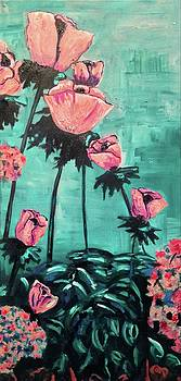 Poppies by Kendall Wishnick Adams