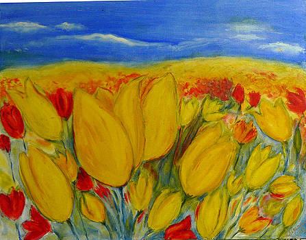 Tulips by Regina Slavin